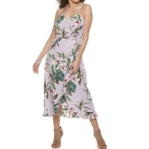Jennifer Lopez Women's Apt. 9 Ruffle Maxi Dress